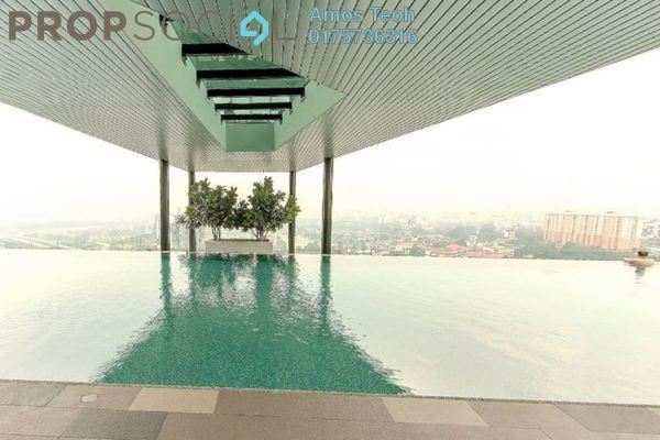 For Rent Condominium at The Leafz, Sungai Besi Freehold Semi Furnished 2R/2B 1.8k