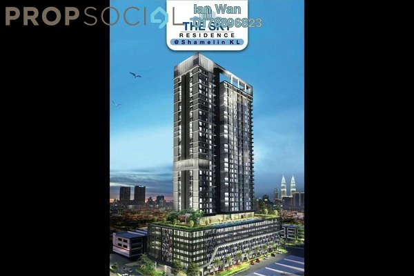 For Sale Serviced Residence at The Sky Residence, Cheras Leasehold Unfurnished 3R/2B 475k