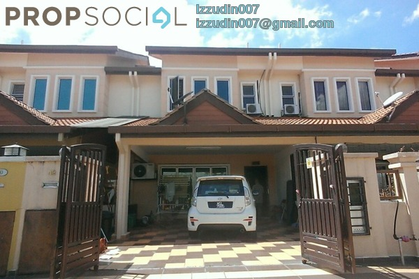 For Sale Terrace at Section 23, Shah Alam Leasehold Semi Furnished 4R/3B 670k