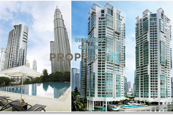 For Sale Condominium at Marc Service Residence, KLCC Freehold Fully Furnished 2R/2B 1.65m