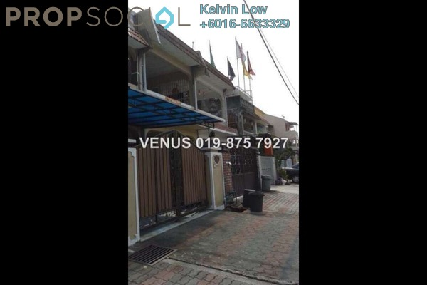 For Rent Terrace at Taman Daya, Kepong Leasehold Semi Furnished 3R/3B 1.6k