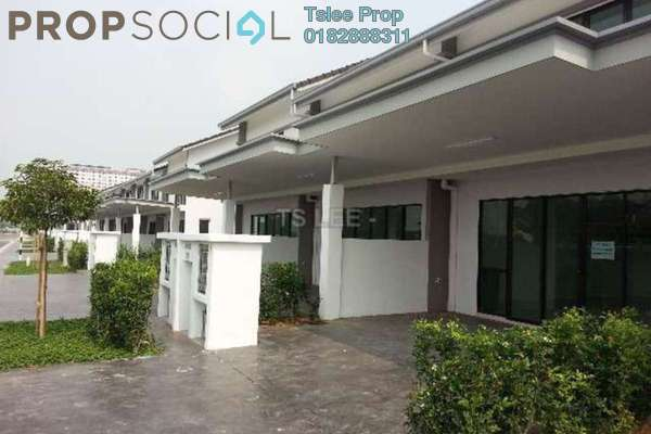For Sale Terrace at Ken Rimba, Shah Alam Freehold Unfurnished 5R/3B 765k