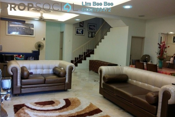 For Sale Terrace at Taman Subang Murni, Subang Leasehold Fully Furnished 4R/3B 600k