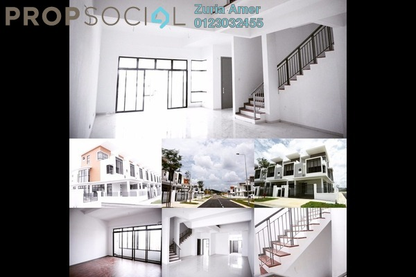 For Sale Terrace at Emerald, Alam Impian Freehold Unfurnished 6R/6B 1.1m