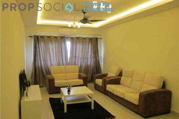For Sale Condominium at Casa Desa, Taman Desa Freehold Semi Furnished 3R/2B 718k