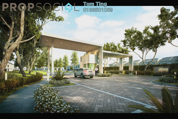 For Sale Terrace at Kasia Greens, Nilai Freehold Unfurnished 5R/4B 564k