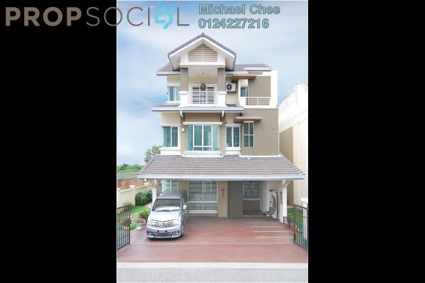 For Sale Bungalow at Kemuning Residence, Kota Kemuning Freehold Semi Furnished 6R/4B 3.9m