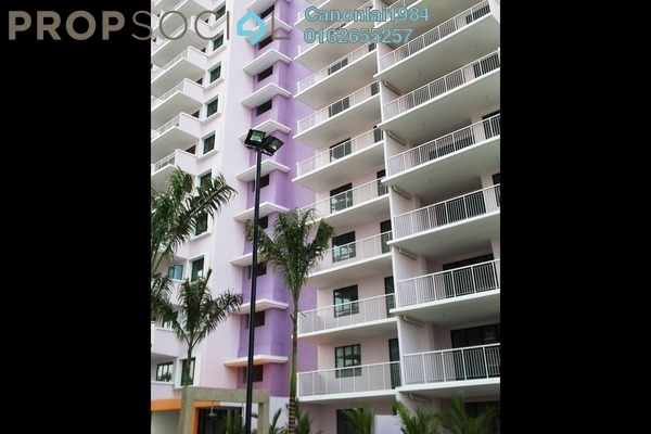 For Rent Condominium at Indah Alam, Shah Alam Freehold Unfurnished 3R/2B 1.6k