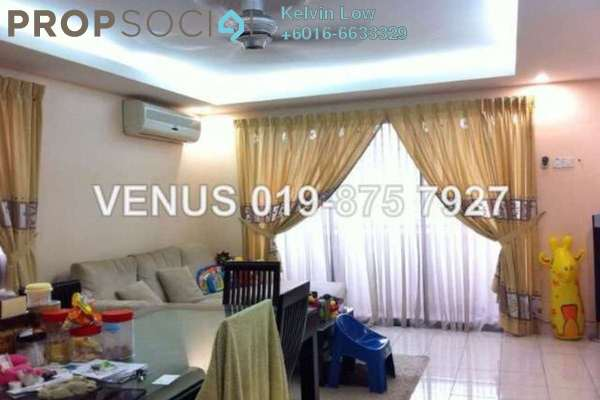 For Rent Condominium at Palm Spring, Kota Damansara Leasehold Fully Furnished 3R/2B 2k