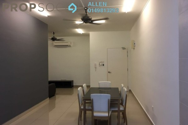For Rent Condominium at The Horizon Residences, KLCC Freehold Semi Furnished 3R/2B 1.5k