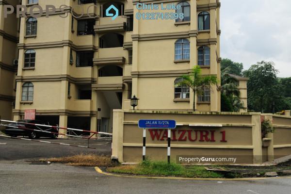For Sale Apartment at Waizuri 1, Wangsa Maju Leasehold Semi Furnished 4R/2B 390k