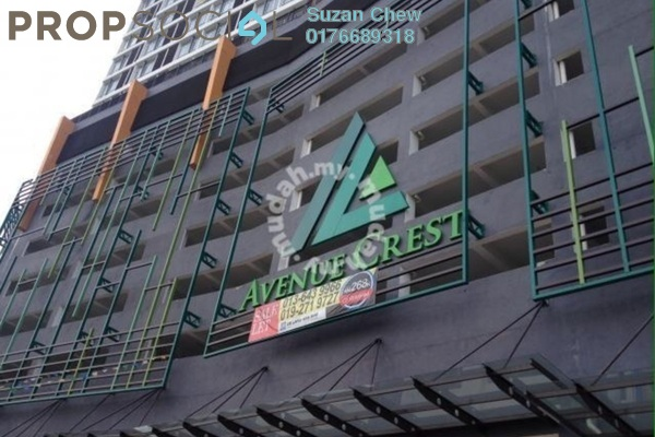 For Rent Office at Avenue Crest, Shah Alam Freehold Unfurnished 0R/0B 1.5k