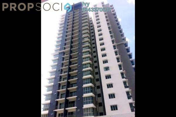 For Rent Condominium at Gardenz @ One South, Seri Kembangan Leasehold Semi Furnished 3R/2B 1.5k