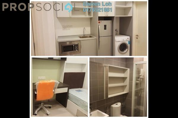 For Rent Condominium at Garden Plaza @ Garden Residence, Cyberjaya Freehold Fully Furnished 3R/2B 1.3k