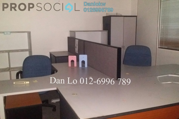 For Rent Office at Megan Avenue 1, KLCC Freehold Semi Furnished 2R/2B 4.5k