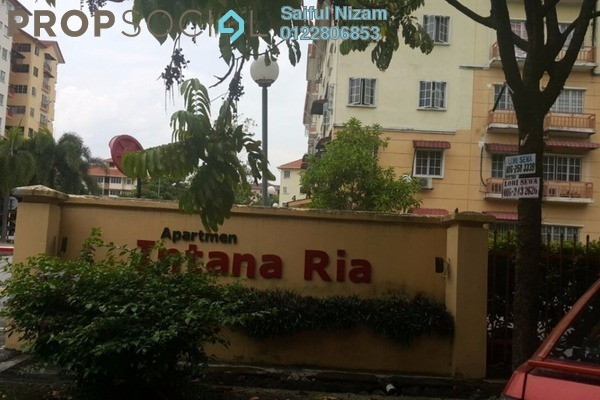For Sale Apartment at Intana Ria, Kajang Leasehold Semi Furnished 4R/2B 270k