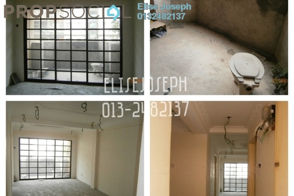 For Sale Apartment at Taman Tun Teja, Rawang Leasehold Unfurnished 3R/2B 130k