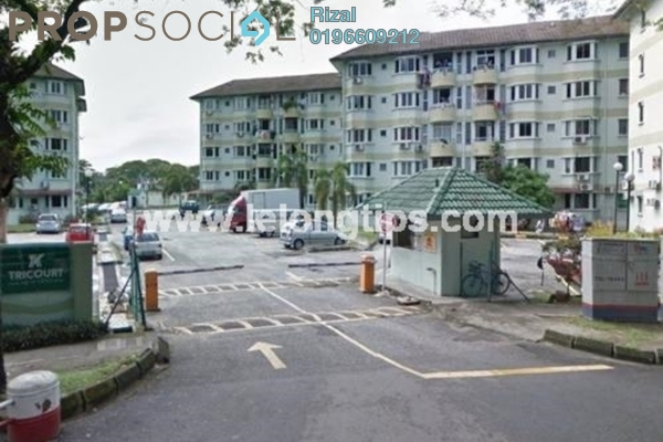For Sale Condominium at Taman Sri Sentosa, Old Klang Road Leasehold Unfurnished 3R/2B 210k