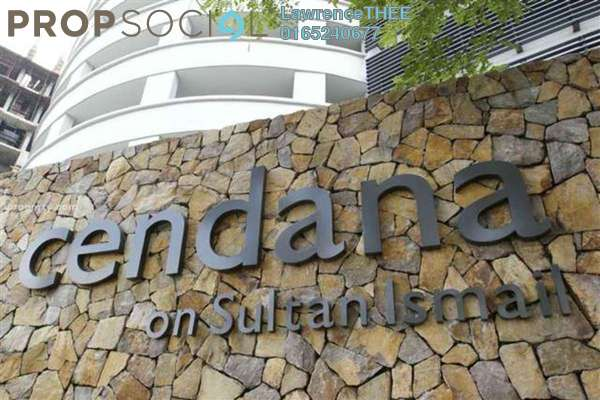 For Rent Condominium at Cendana, KLCC Freehold Fully Furnished 4R/4B 9k