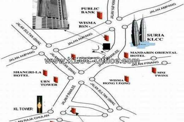 For Rent Office at Menara TA One, KLCC Leasehold Unfurnished 0R/0B 7.5k