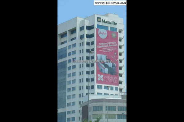 For Rent Office at Menara Manulife, Damansara Heights Leasehold Unfurnished 0R/0B 27.6k