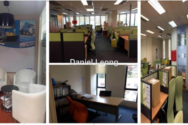 For Rent Office at Wisma Volkswagen, Bangsar Leasehold Unfurnished 0R/0B 12k