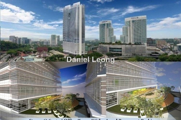For Rent Office at Q Sentral, KL Sentral Leasehold Unfurnished 0R/0B 11k