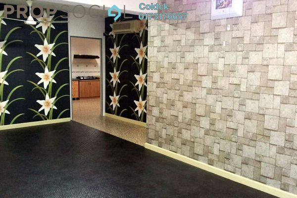For Sale Condominium at Heritage, Setapak Freehold Semi Furnished 3R/2B 428k