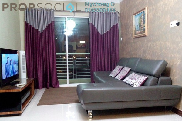 For Sale Condominium at Panorama Residences, Sentul Freehold Fully Furnished 3R/2B 590k