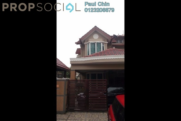 For Sale Terrace at Taman Tun Perak, Rawang Leasehold Semi Furnished 4R/3B 780k