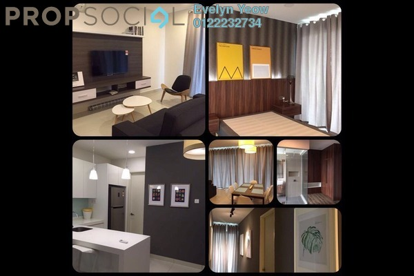 For Rent Condominium at Cristal Residence, Cyberjaya Freehold Fully Furnished 3R/3B 3k