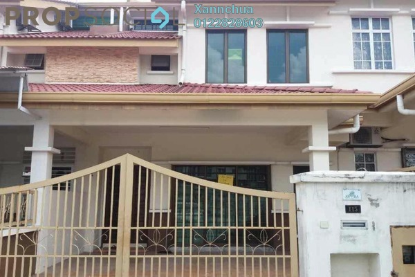 For Sale Terrace at Alam Sanctuary, Bandar Putra Permai Leasehold Unfurnished 4R/3B 780k