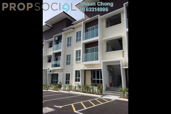 For Rent Townhouse at Section 1, Bandar Mahkota Cheras Freehold Semi Furnished 3R/2B 1.1k