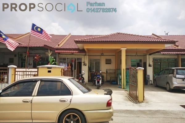 For Sale Terrace at Taman Intan Baiduri, Selayang Leasehold Semi Furnished 3R/2B 340k