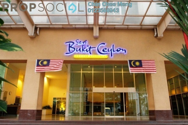For Sale Serviced Residence at Seri Bukit Ceylon, Bukit Ceylon Freehold Fully Furnished 2R/2B 1.03m