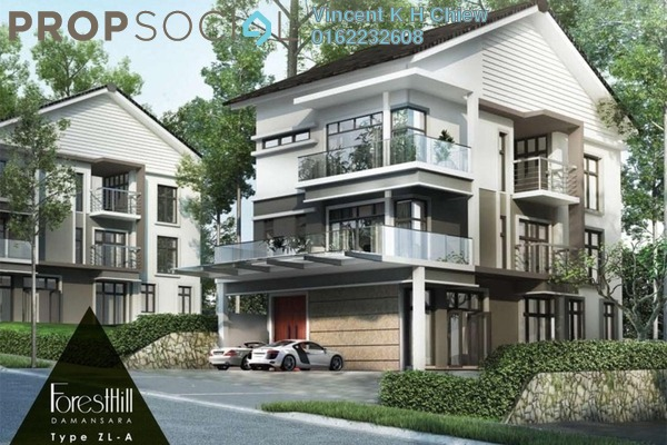 For Sale Semi-Detached at ForestHill Damansara, Bandar Sri Damansara Leasehold  4R/6B 3m
