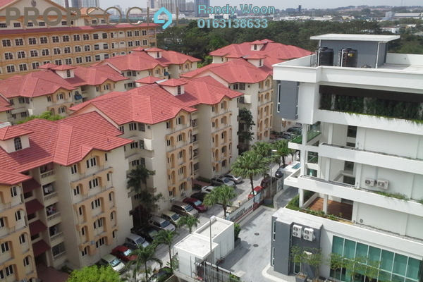 For Sale Condominium at Indah Villa, Bandar Sunway Leasehold Semi Furnished 4R/2B 450k