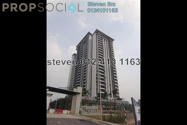 For Sale Condominium at Serin Residency, Cyberjaya Freehold Unfurnished 3R/2B 560k