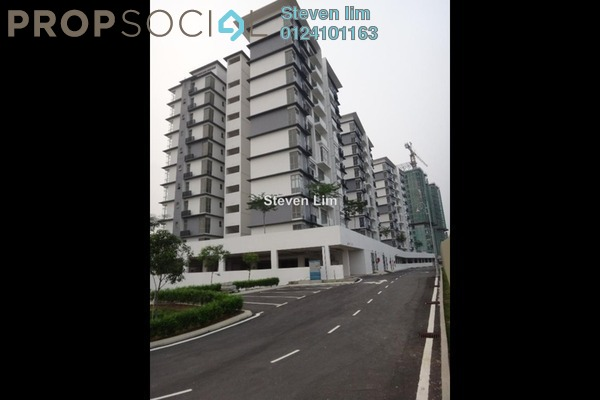 For Rent Apartment at Lakeview Residency, Cyberjaya Freehold Semi Furnished 3R/2B 1.8k