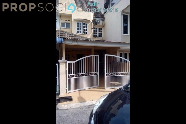 For Sale Terrace at Taman Kosas, Ampang Leasehold Semi Furnished 3R/3B 500k