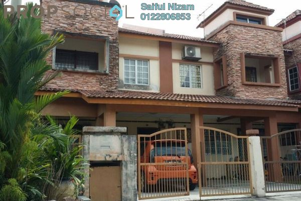 For Sale Terrace at Bangi Perdana, Bandar Baru Bangi Leasehold Semi Furnished 4R/3B 560k