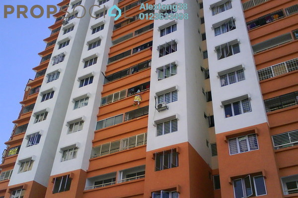 For Sale Apartment at Flora Damansara, Damansara Perdana Leasehold Unfurnished 3R/2B 210k