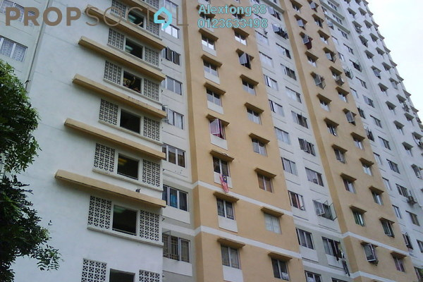 For Sale Apartment at Flora Damansara, Damansara Perdana Leasehold Semi Furnished 3R/2B 190k