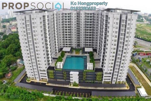 For Sale Condominium at Anyaman Residence, Bandar Tasik Selatan Freehold Semi Furnished 3R/2B 580k