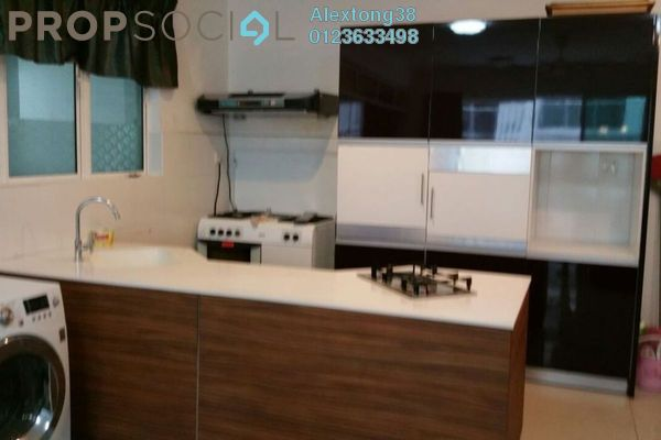 For Rent Condominium at Ritze Perdana 2, Damansara Perdana Leasehold Fully Furnished 1R/1B 2k