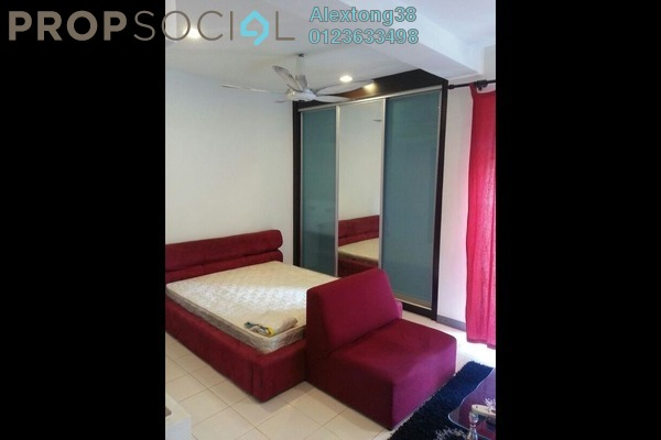 For Rent SoHo/Studio at Ritze Perdana 1, Damansara Perdana Leasehold Fully Furnished 1R/1B 1.4k