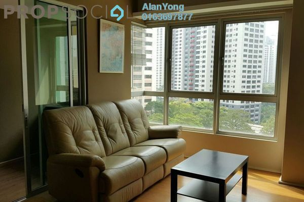 For Rent Condominium at i-Zen Kiara I, Mont Kiara Freehold Fully Furnished 2R/2B 2.9k