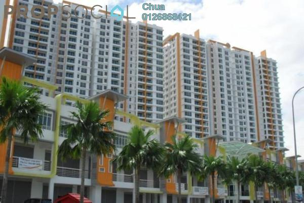 For Rent Condominium at The Zest, Bandar Kinrara Freehold Semi Furnished 3R/2B 1.9k