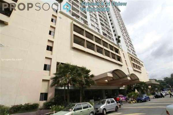 For Sale Condominium at Pearl Point Condominium, Old Klang Road Freehold Semi Furnished 3R/2B 420k