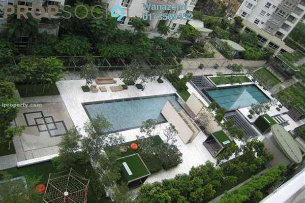 For Sale Condominium at Hijauan Kiara, Mont Kiara Freehold Semi Furnished 4R/4B 1.86m